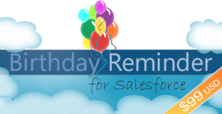 Contact Birthdays in the Salesforce Sidebar