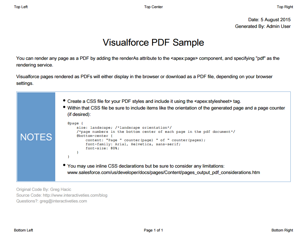 visualforce page rendered as pdf