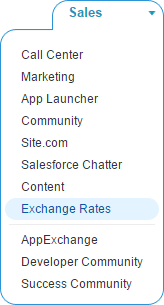 Select Exchange Rates Application